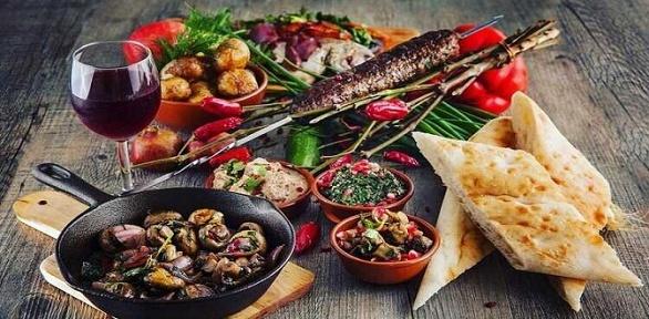 Всё меню инапитки вгрузинских ресторанах «Тбилиси» заполцены