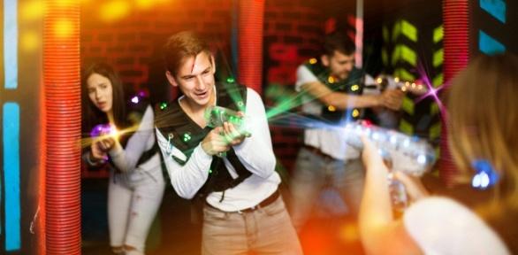 2часа игры влазертаг вразвлекательном комплексе «Аркада»