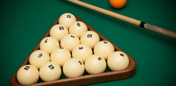 Игра врусский бильярд для компании до5человек в«Бильярдном клубе №1»