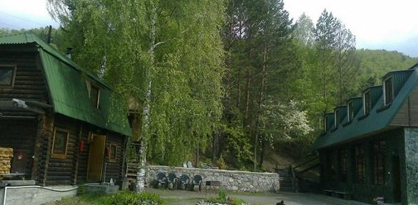 Отдых вГорном Алтае спитанием, посещением бани набазе Green House