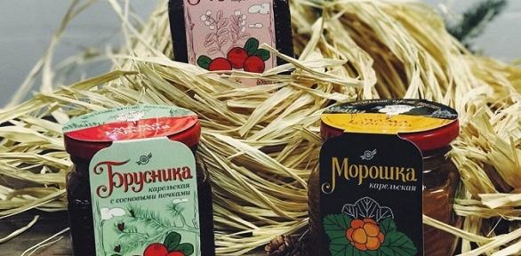 Набор иван-чая, варенья изкарельских ягод сподарочной упаковкой или без