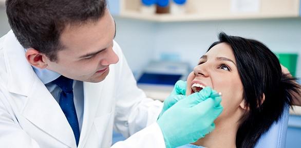 Лечение кариеса, УЗ-чистка зубов встоматологии «Эстет»