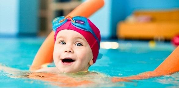 Занятия поплаванию стренером вдетском бассейне «Жемчужинка»