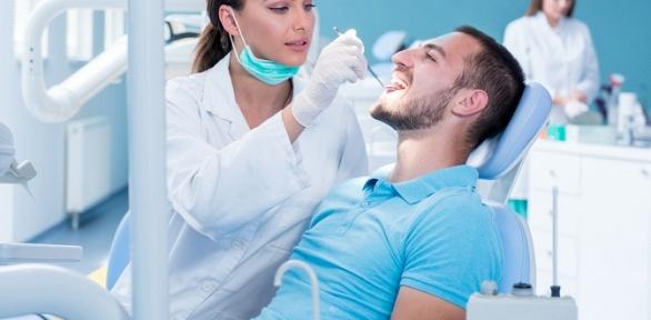 УЗ-чистка сконсультацией стоматолога иполировкой зубов вклинике «Идеал»