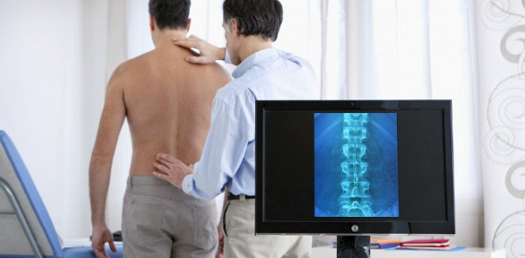 Обследование отделов позвоночника вцентре лечения позвоночника «МиоМед»
