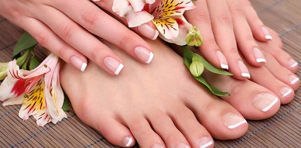 Маникюр ипедикюр, гелевое наращивание ногтей всалоне Tina &Beauty