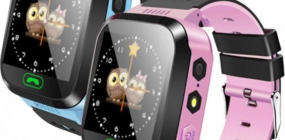 Детские GPS-часы-телефон Q528
