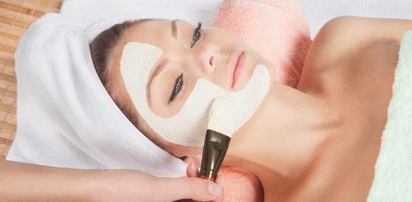 Чистка, пилинг, массаж лица, нанесение альгинатной маски всалоне «Лакшми»