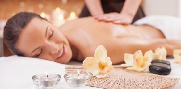 Сеансы массажа навыбор cобертыванием или без в«Салоне красоты иSPA»