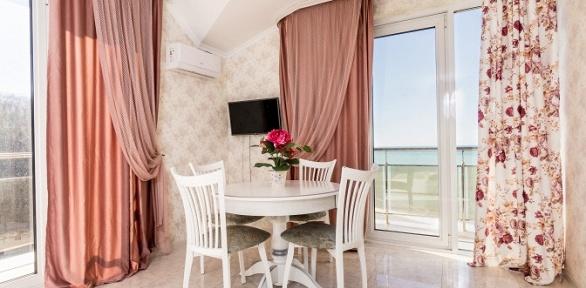 Отдых наберегу Черного моря вапартаментах от«Курортного бюро №1»