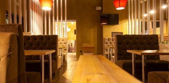 Паровой коктейль сугощениями вMagic Bar &Chillout