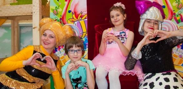 Посещение игровой комнаты «Фламинго Kids»