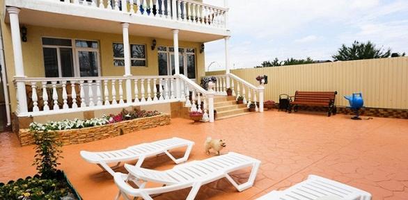 Отдых вАнапе наберегу Черного моря вгостинице «Зеленая крыша»