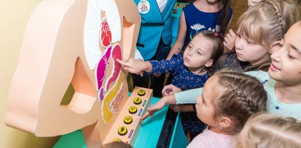 Билет наэкскурсию для детей в«Музей здоровья»