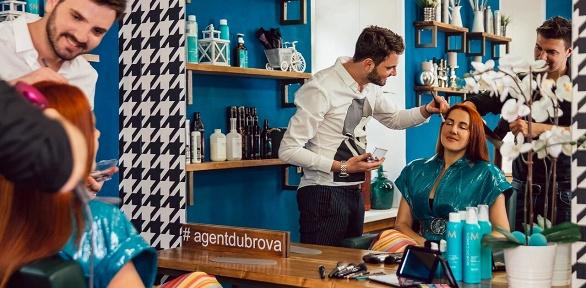 Окрашивание, услуги стилистов, выпрямление волос встудии Agent Dubrova