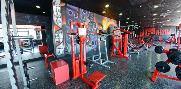 Посещение тренажерного зала всети фитнес-центров Ferrum