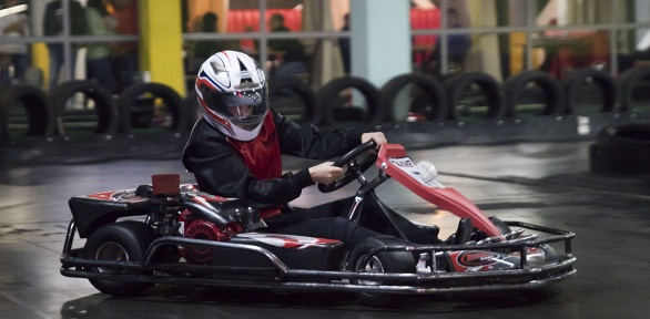 2 заезда на крытом картодроме Olymp Karting