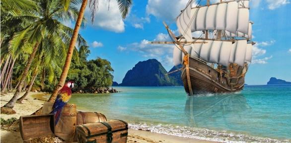 Участие вдетском квесте «Остров сокровищ» откомпании «Вподвале»