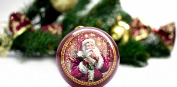 Новогодние шары или орешки спредсказанием