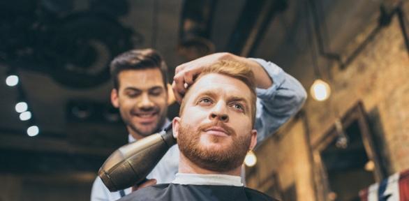 Мужская стрижка, моделирование бороды, стрижка усов вбарбершопе Wo.Man