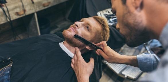 Мужская, детская стрижка, моделирование бороды, бритье вбарбершопе Fire