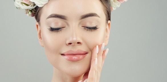 Процедуры поуходу закожей лица вкабинете «Красотка»