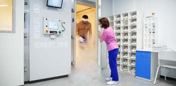 Процедуры криотерапии или прессотерапии отцентра Evolife