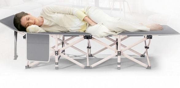 Ортопедическая мобильная раскладушка-трансформер