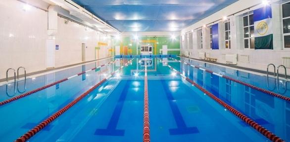 Посещение бассейна или тренажерного зала вфитнес-клубе «Аквитания»