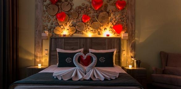 Романтический отдых для двоих вотеле Chalet Country Club