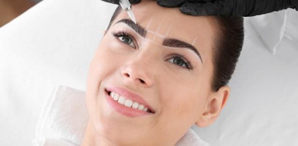 Перманентный макияж бровей, век или губ встудии Алины Кадыровой