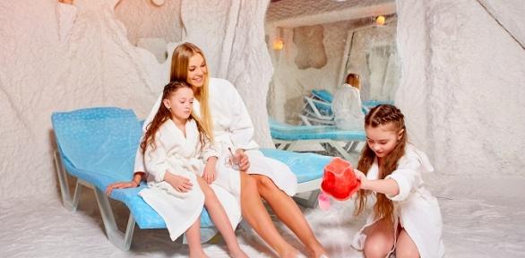 Сеансы для взрослого либо ребенка всоляной пещере «Солевед»