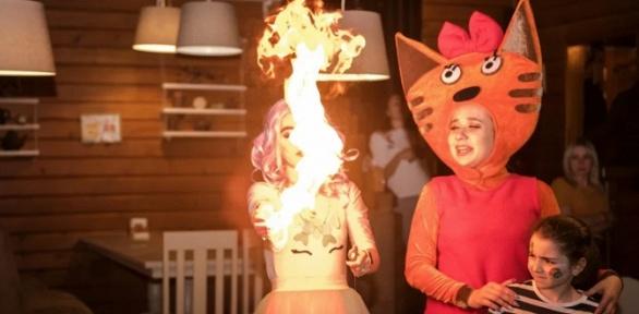 Организация детского праздника отстудии Angry Birds