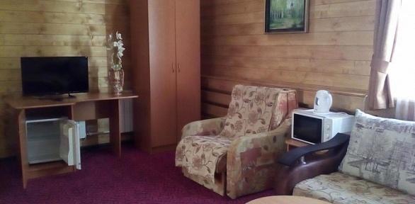 Отдых напобережье озера Банное вгостинице «Евразия»
