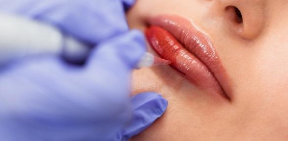 Перманентный макияж бровей, губ или век встудии Евгении Грибковой