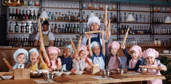 Детский праздник смастер-классами идекором в«Молоко Пекарня»