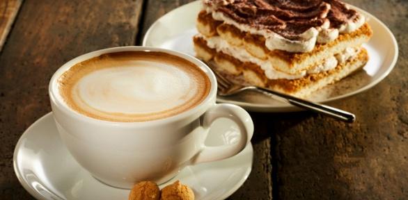 Кофе, чай идесерт всети кофеен «Маффин» заполцены