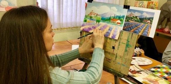 Художественный курс отшколы рисования «Творческий путь»