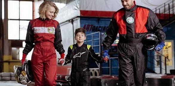 Заезды накарте, совместная гонка отцентра Аrt-Racing