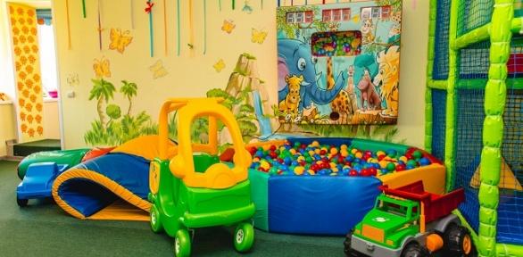 Посещение детского игрового центра «Акуна Матата»