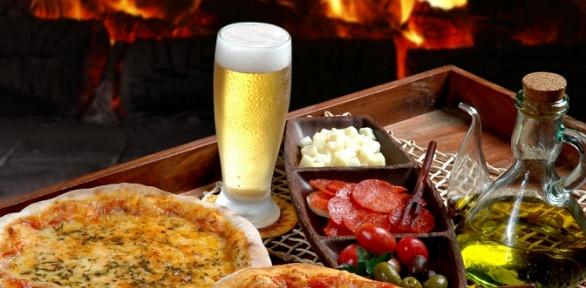 Ужин навыбор либо паровая церемония для двоих или четверых вкафе Parovoz