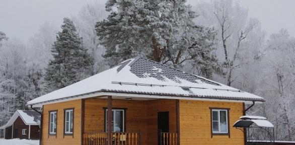 Отдых наберегу Оки вкоттедже вдачном отеле «Лесные поляны»