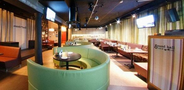 Ужин вкараоке-клубе Sound Hall