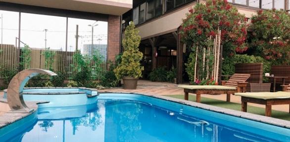 Отдых соткрытым подогреваемым бассейном иSPA вотеле LaTerrassa3*