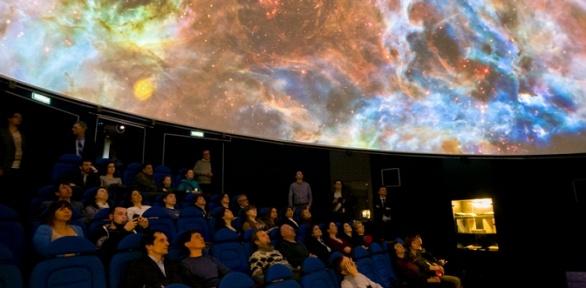 Посещение сеанса вИркутском планетарии