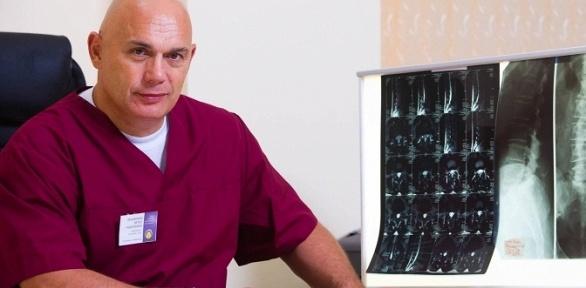 Обследование спины смассажем вклинике «Центр доктора Бубновского»