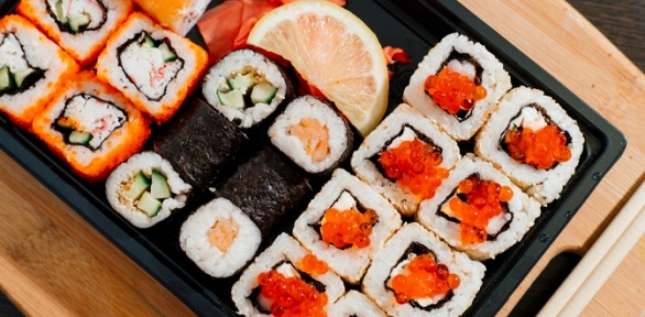 Суши-сеты отресторана доставки «СушиГрад»