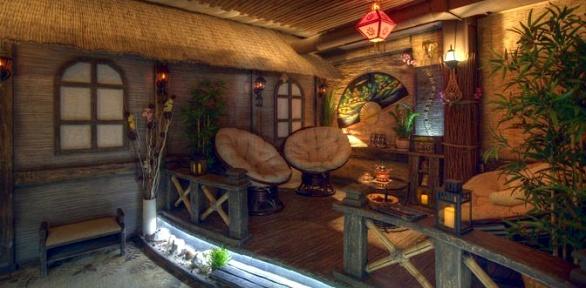 Отдых SPA-Relax Baunty для одного или двоих втайской SPA-деревне Baunty