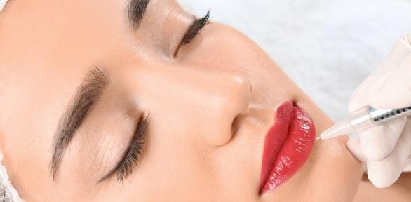 Перманентный макияж век, бровей или губ навыбор всалоне красоты Sky Light