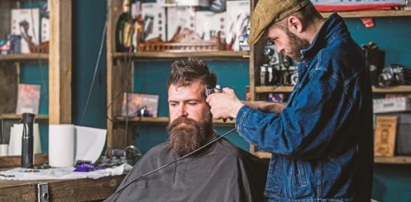 Мужская стрижка или моделирование бороды встудии красоты «Кудри»